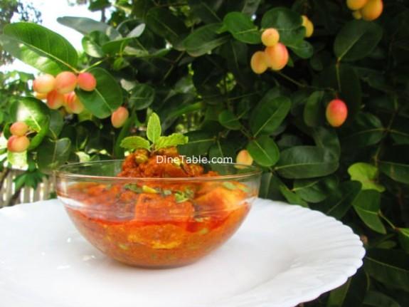 Matar Paneer Recipe / Vegetarian Dish