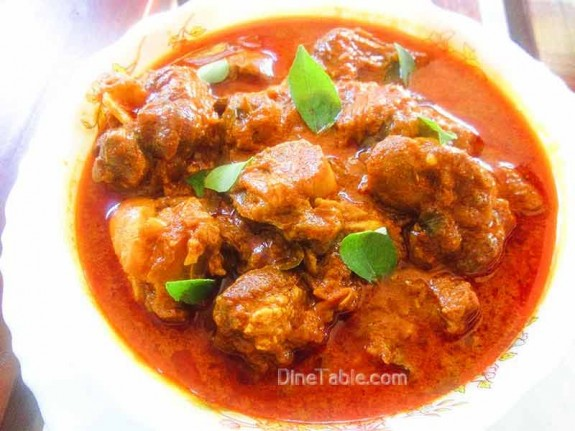 Nadan Mutton Curry Recipe / Tasty Dish