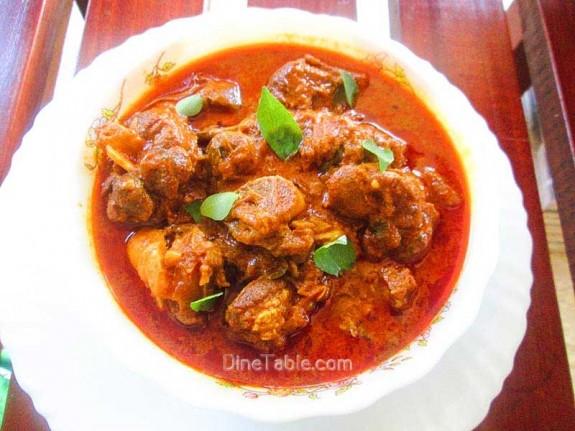 Nadan Mutton Curry Recipe / Nadan Dish