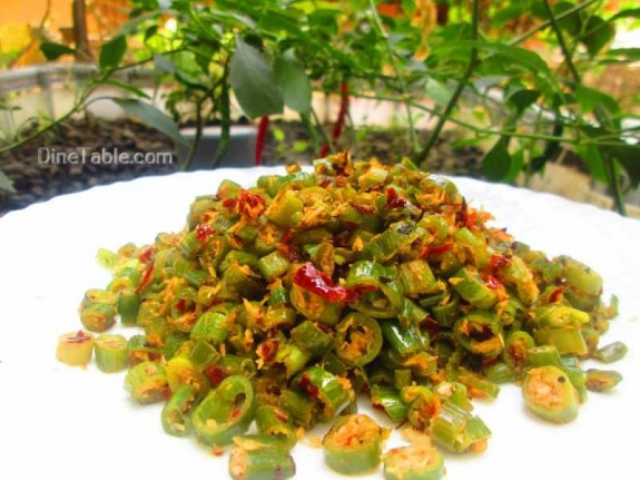 Spring Onion Thoran / Delicious Dish