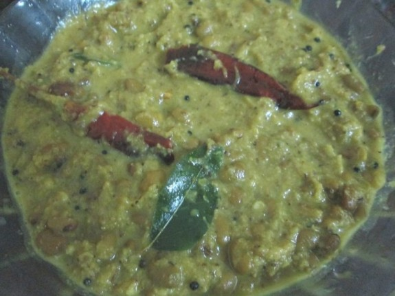 Mathanga and Vanpayar Erissery / Vegetarian Recipe