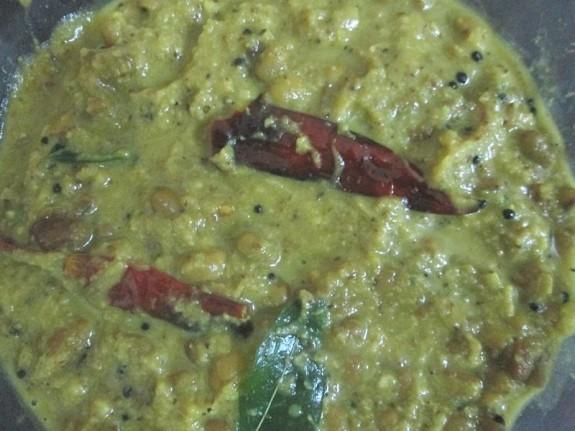 Mathanga and Vanpayar Erissery / Sadhya Recipe