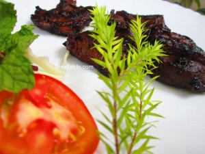 Pan Grilled Beef Steak