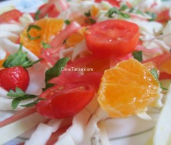 Cabbage And Orange Salad Recipe / Homemade Salad