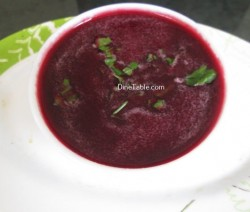Carrot Beetroot And Orange Soup Recipe / Healthy Soup