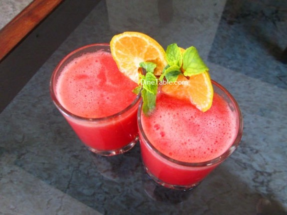 Citrus Punch Recipe / Nutritious Drink