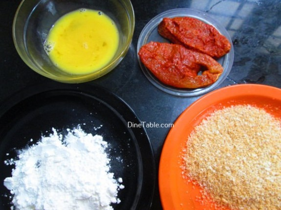 Fish Fry With Bread Crumbs Recipe / Nutritious Fry