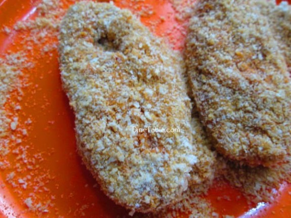 Fish Fry With Bread Crumbs Recipe / Healthy Fry