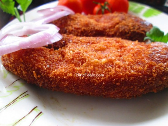 Fish Fry With Bread Crumbs Recipe / quick Fry