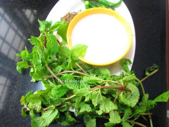 Hara Masala Raita Recipe / Homemade Dish