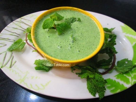 Hara Masala Raita Recipe / Delicious Dish