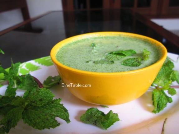 Hara Masala Raita Recipe / Easy Dish