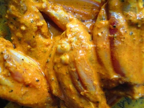 Oats Coated Crispy Fried Chicken Wings Recipe / Crispy Dish
