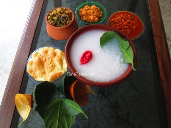 PazhamKanji Recipe / Easy Dish
