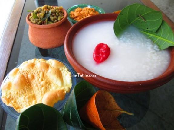 PazhamKanji Recipe / Quick Dish
