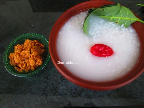 PazhamKanji Recipe / Simple Dish