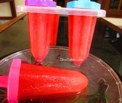 Watermelon Popsicles Recipe / Quick Dish