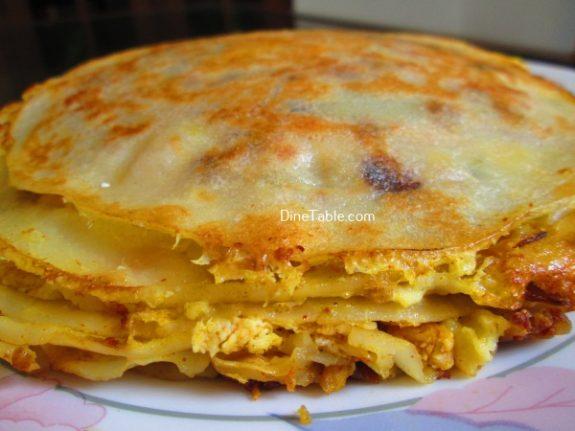 Chatti Pathiri Recipe / Mouth Watering Snack
