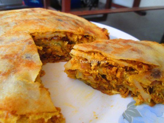Chatti Pathiri Recipe / Homemade Recipe