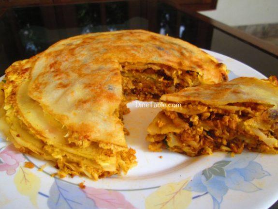 Chatti Pathiri Recipe / Easy Dish