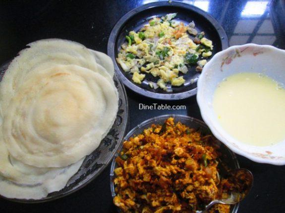 Chatti Pathiri Recipe / Layered Snack Recipe
