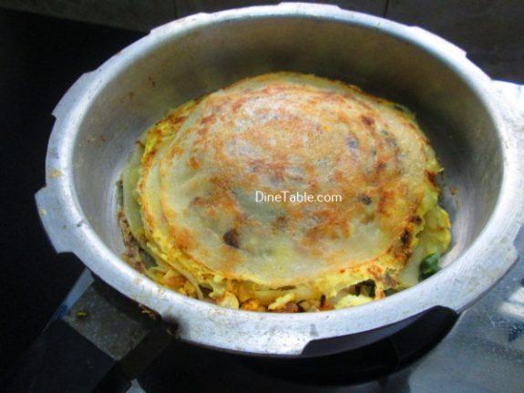 Chatti Pathiri Recipe / ചട്ടി പത്തിരി