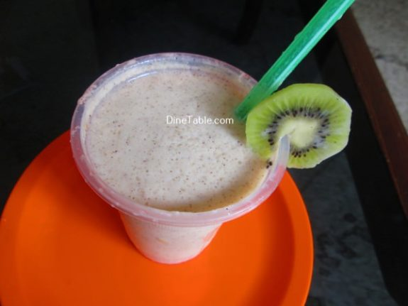 Kiwi Milkshake Recipe / Summer Drink