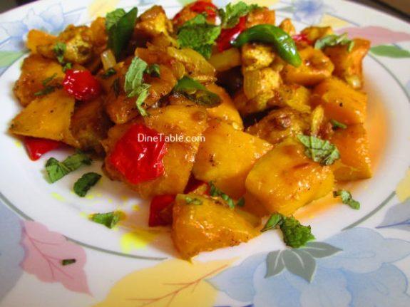 Mango Chicken Recipe / Easy Dish