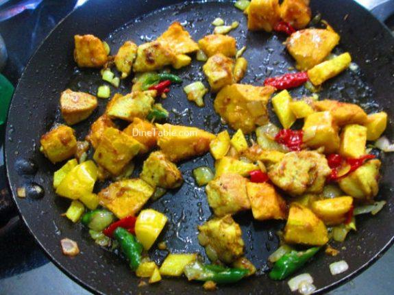 Mango Chicken Recipe / Homemade Dish