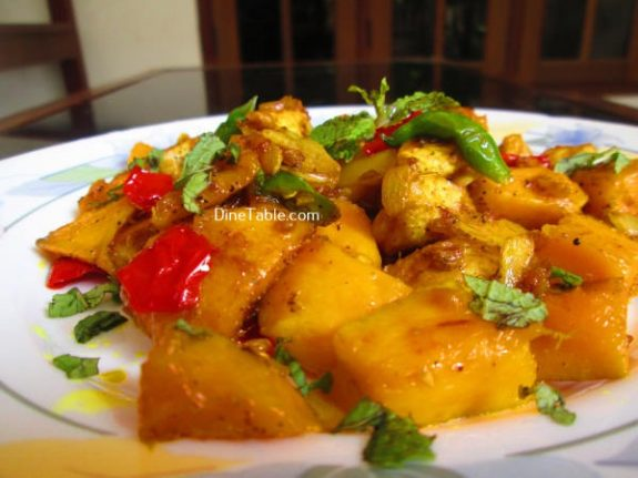 Mango Chicken Recipe / Delicious Dish