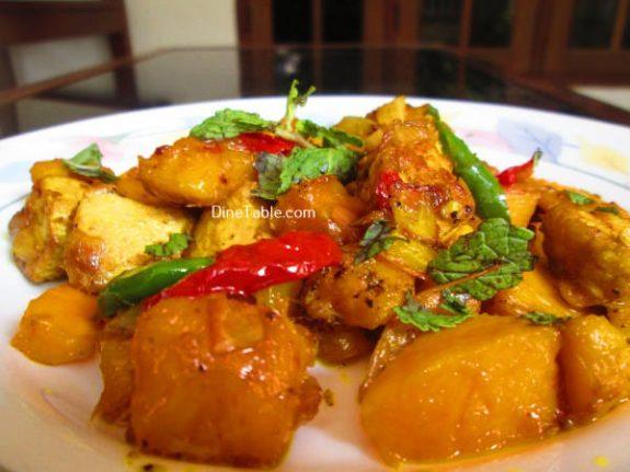 Mango Chicken Recipe / Healthy Dish