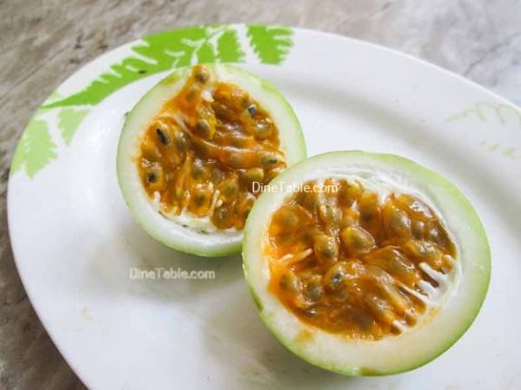 Milk Pudding With Passion Fruit Topping Recipe / Easy Pudding