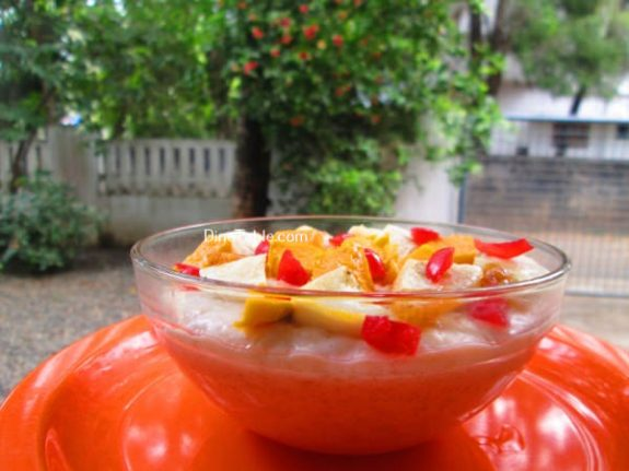 Oats With Mango And Banana Recipe / Quick Dish