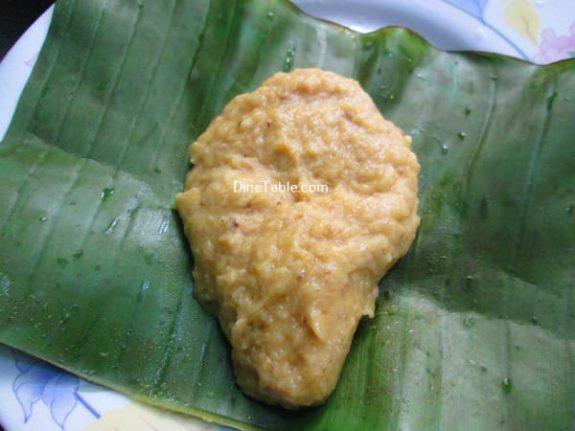 Vazha Pazham Ela Ada Recipe / Homemade Dish