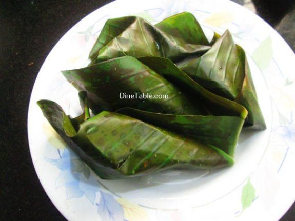 Vazha Pazham Ela Ada Recipe / Healthy Dish
