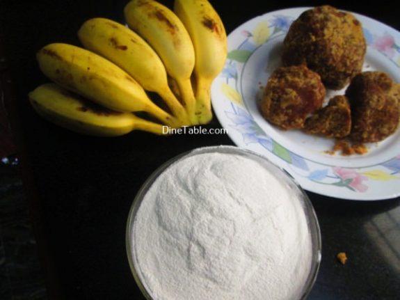 Vazha Pazham Ela Ada Recipe / Quick Dish