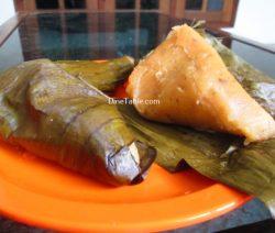 Vazha Pazham Ela Ada Recipe / Simple Dish