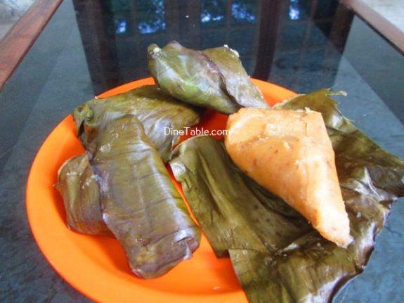 Vazha Pazham Ela Ada Recipe / Easy Dish