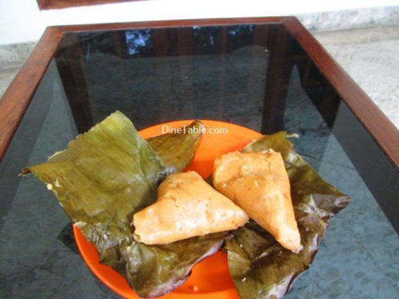 Vazha Pazham Ela Ada Recipe / Kerala Dish