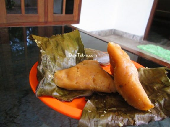 Vazha Pazham Ela Ada Recipe / Tea Time Snack