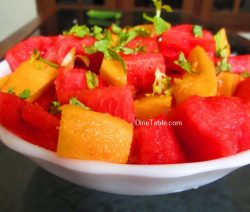 Watermelon Mango Salad Recipe / Quick Salad