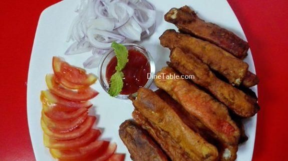 Batter Fried Crab Sticks Recipe / Simple Snack