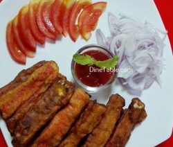 Batter Fried Crab Sticks Recipe / Tasty Snack