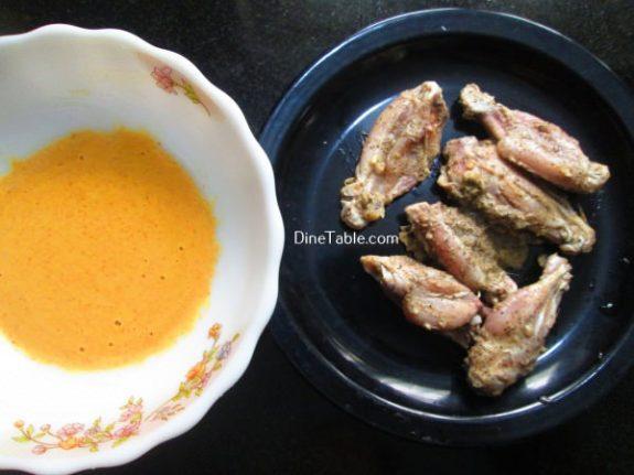 Chicken Wings Bajji Recipe / Yummy Snack