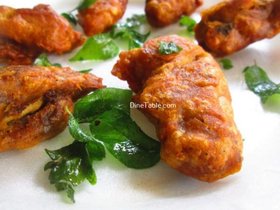 Chicken Wings Bajji Recipe / Healthy Snack