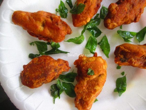 Chicken Wings Bajji Recipe / Tasty Snack