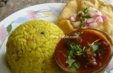 Coconut Rice Recipe / Easy Dish