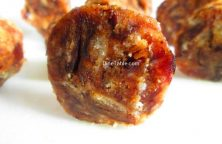 Dates Biscuit Roll Recipe / Special Snack