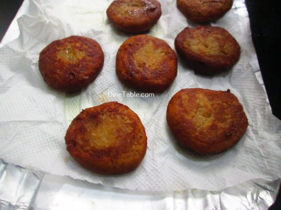 Banana Cutlet Recipe / Sweet Cutlet