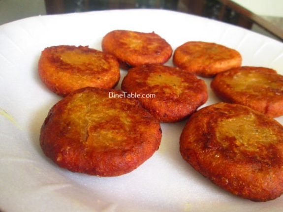 Banana Cutlet Recipe / Fried Cutlet